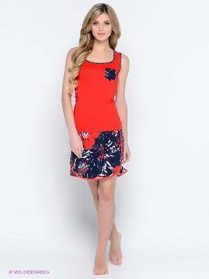 Комплект одежды CATHERINE'S. Цвет: темно-синий, красный