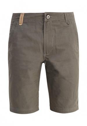 Шорты джинсовые Запорожец Heritage. Цвет: хаки