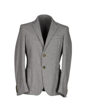 Пиджак ROBERTO PEPE. Цвет: светло-серый