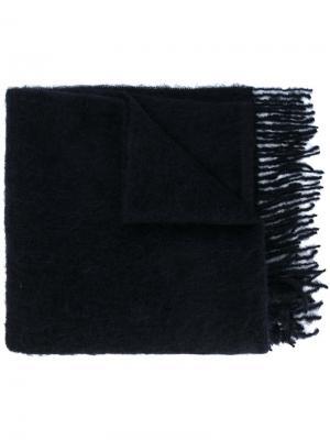 Классический шарф Études. Цвет: синий