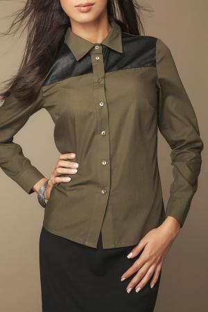 Рубашка Ambigante. Цвет: зеленый