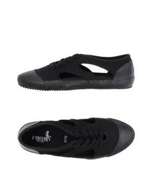 Низкие кеды и кроссовки F-TROUPE. Цвет: черный