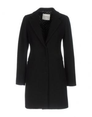 Пальто OTTOD'AME. Цвет: черный