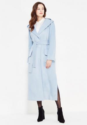 Пальто Demurya Collection. Цвет: голубой