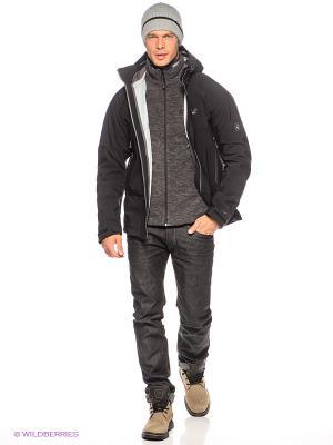 Куртка GLACIER PEAK JACKET MEN Jack Wolfskin. Цвет: черный