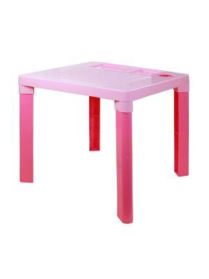Стол детский Альтернатива. Цвет: розовый