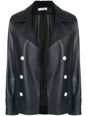 Двубортная куртка Inès & Maréchal. Цвет: чёрный