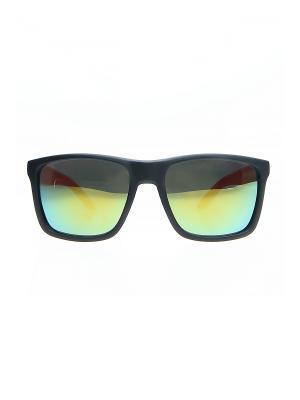 Солнцезащитные очки Happy Charms Family. Цвет: черный, желтый