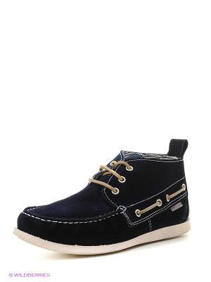 Ботинки STORM. Цвет: синий