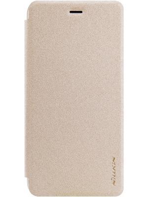 Чехол для Huawei P10 Lite Nillkin. Цвет: золотистый