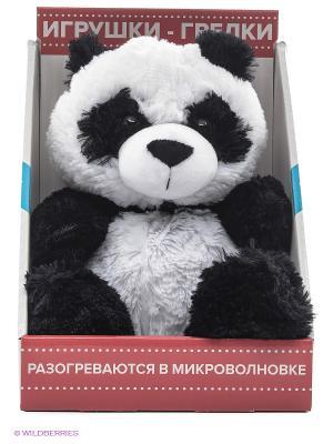 Игрушка-грелка Cozy Plush Панда Warmies. Цвет: белый, черный