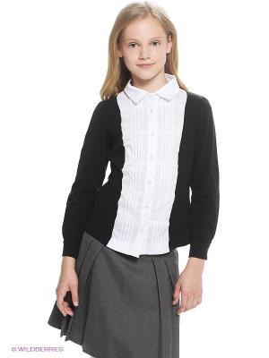 Блузка LIK. Цвет: белый, черный