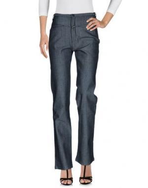 Джинсовые брюки LE JEAN DE MARITHÉ + FRANÇOIS GIRBAUD. Цвет: черный