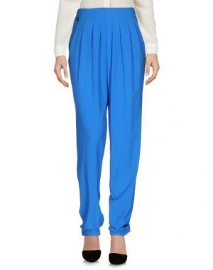 Повседневные брюки MANILA GRACE. Цвет: лазурный
