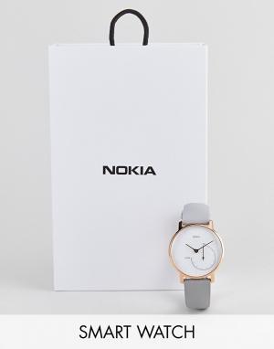 Nokia Смарт-часы с функцией мониторинга деятельности и сна HAW01. Цвет: золотой