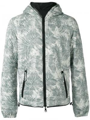 Двухсторонняя куртка Dragotre-erre Duvetica. Цвет: зелёный