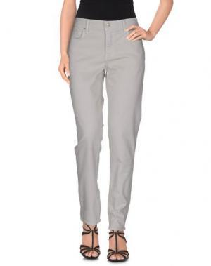 Джинсовые брюки VELVET by GRAHAM & SPENCER. Цвет: светло-серый