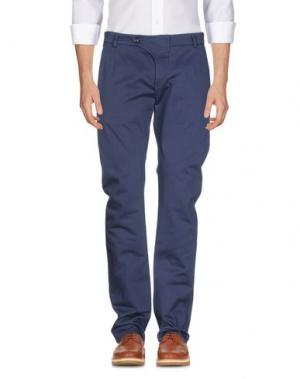 Повседневные брюки VIKTOR & ROLF. Цвет: темно-синий