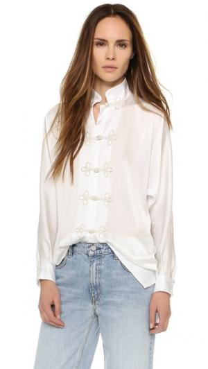 Блуза Angelina Koch. Цвет: белый