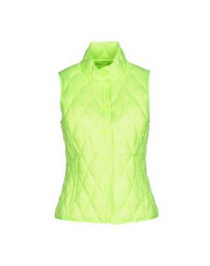 Пуховик BPD BE PROUD OF THIS DRESS. Цвет: кислотно-зеленый