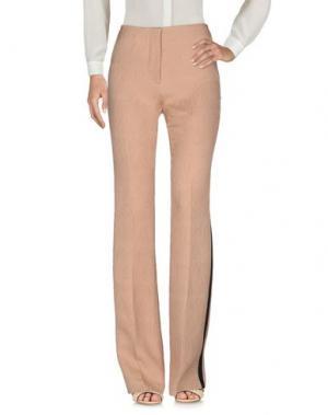 Повседневные брюки MARCO DE VINCENZO. Цвет: песочный