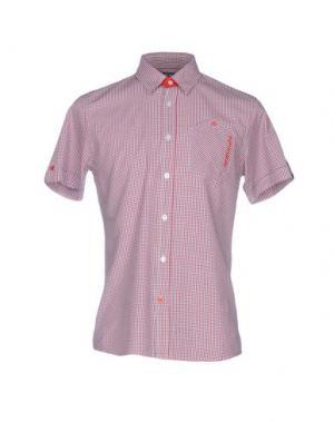 Pубашка 55DSL. Цвет: красный
