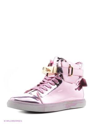 Кроссовки KEDDO. Цвет: розовый