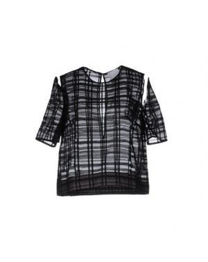 Блузка DANIELLE ROMERIL. Цвет: черный