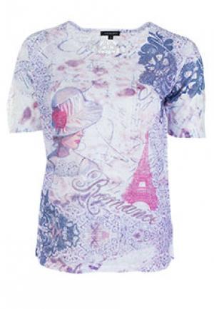 Футболка LEO GUY. Цвет: фиолетовый