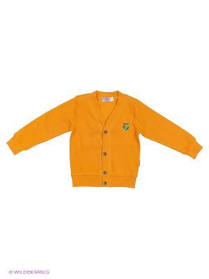 Кардиган Bonito kids. Цвет: оранжевый