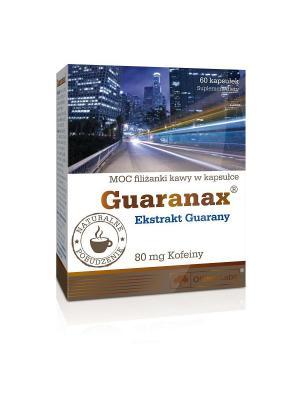 Энергетик Olimp Guaranax (60 кап.) Nutrition. Цвет: белый, коричневый