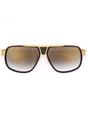 Солнцезащитные очки Grandmaster 5 Dita Eyewear. Цвет: металлический