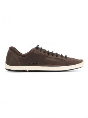Panelled sneakers Osklen. Цвет: коричневый