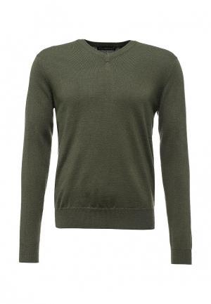 Пуловер Occhibelli. Цвет: зеленый