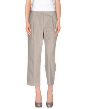 Повседневные брюки -A-. Цвет: светло-серый
