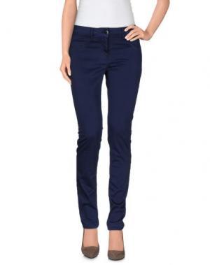 Повседневные брюки LIVIANA CONTI. Цвет: синий