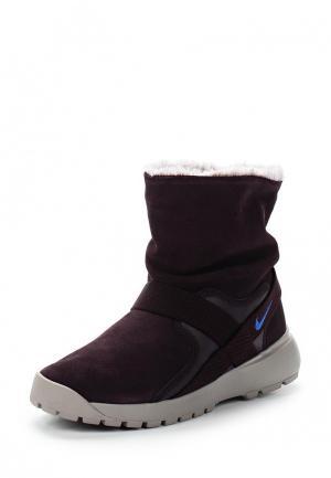 Полусапоги Nike. Цвет: фиолетовый