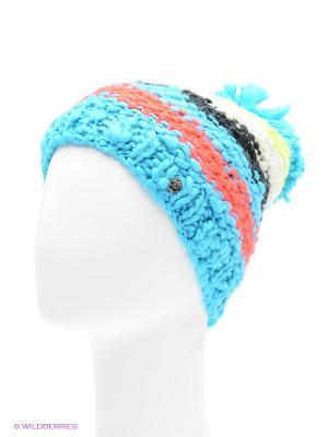 Шапка CMP. Цвет: голубой, коралловый, черный, салатовый