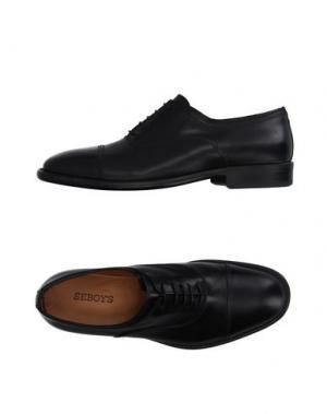 Обувь на шнурках SEBOY'S. Цвет: черный