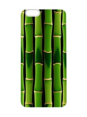 Чехол для iPhone 6 Бамбук Chocopony. Цвет: темно-зеленый, хаки, черный