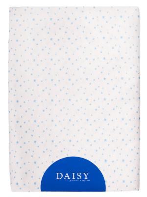 Пеленка Трикотаж 90х120 Звездочка гол DAISY. Цвет: голубой, кремовый