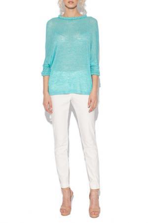 Блуза Nissa. Цвет: голубой