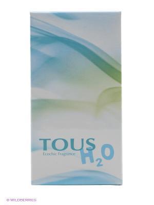 Tous H20 Ж Товар Туалетная вода 30 мл. Цвет: белый, светло-зеленый, голубой