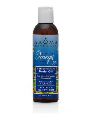 Специальное масло для тела Ментол и травы, 180 мл Aroma Naturals. Цвет: прозрачный