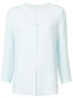 Блузка с длинными рукавами Peter Cohen. Цвет: синий