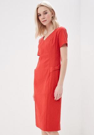 Платье Vemina City Lisa Romanyk. Цвет: красный