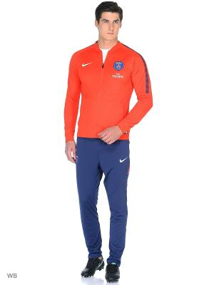 Спортивный костюм PSG M NK DRY SQD TRK SUIT K Nike. Цвет: красный, синий