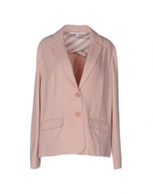 Пиджак XANDRES. Цвет: розовый