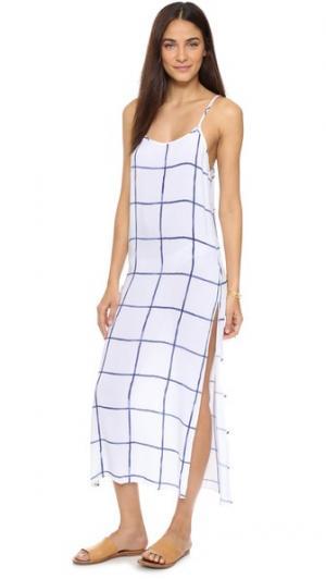 Платье Alison RAILS. Цвет: акварельная клетка