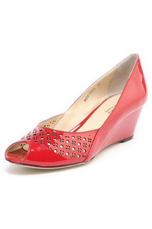 Туфли DANIEL DEMARK. Цвет: красный